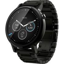 Moto 360 2da Gen Hombres Smartwatch Apple Ios Android Negro