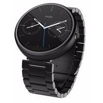 Smartwatch Motorola Moto 360 Android Reloj Negro Metal