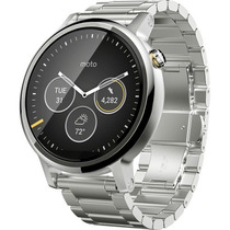 Moto 360 2da Gen Hombres Smartwatch Apple Ios Android Plata
