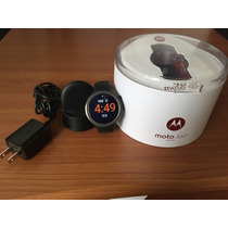 Reloj Moto 360 Sport Negro (iphone, Android)(seminuevo)