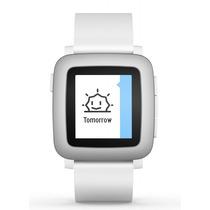 Reloj Pebble Time Smartwatch Color E-paper Agua Microfono -b