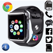 Reloj Celular Chip Smartwatch Hasta 32gb Camara Android Ios