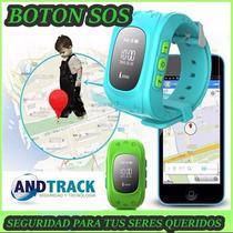Reloj Gps Para Niño Con App Celular Comunicacion Dos Vias