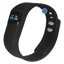 Brazalete Inteligente Podometro Bluetooth Reloj Ejercicio
