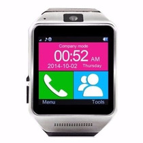 Reloj Celular Smatwhatch Gear Gv08 Camara Hd Touch Podometro
