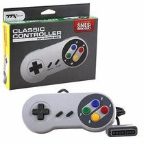 Control Clasico Par Super Nintendo Snes Estilo Super Famicom