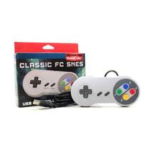 Control Clásico Super Nintendo Snes Usb Pc Y Mac