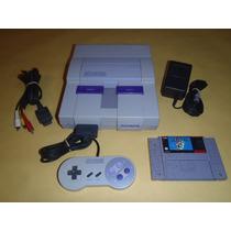 Super Nintendo Completo, 1 Control Con Super Mario World E2