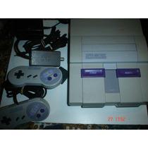 Super Nintendo +6 Juegos /+ D 200 Tit.diferentes Paquete 4b