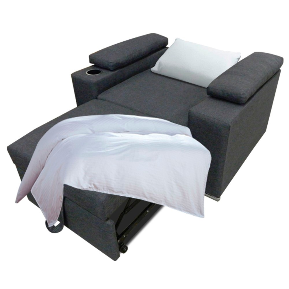Sof cama salas futon element sill n mobydec muebles for Futon cama precio