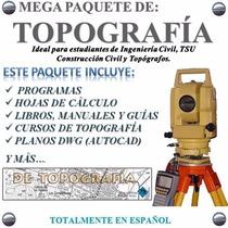 Programas De Topografia Ingeniería Civil Topógrafos