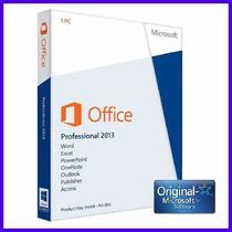 Office 2013 Professional Plus X64/x86 1 Pc Licencia Original