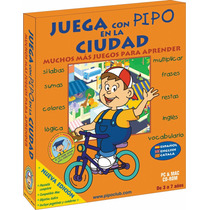 Juega Con Pipo En La Ciudad 100% Original