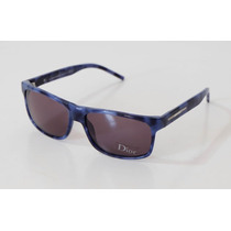 Lentes Dior Black Tie 92s Mp8bn 57mm Azul Camuflado Oferta!