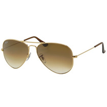 Ray Ban Aviator Gota Mediana Rb 3025 001/51 Gold Gradient