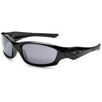 Oakley Straight Jacket - Polished Black / Black Iridium
