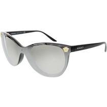 Gafas Versace Cateye Gafas De Sol Ve 4266 Marco Negro / Gri