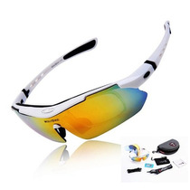 Lentes Deportivos Wolfbike Sport Polarized Color Blanco