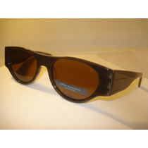 Lentes Sol John Varvatos 732 Brown Horn Polarizados Retro