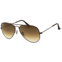 Ray Ban Aviator Gota Chica Rb 3025 014/51 Gun Brown Gradradi