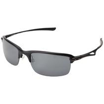 Oakley Wiretap Matte Black / Black Iridium Polarized 4071-05