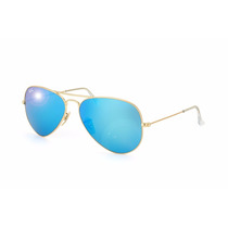 Lentes Solares Ray Ban Rb3025 112/17 Aviator Large Metal