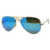 Ray Ban Polarizado Espejo Azul Rb 3025 112/4l Gota Mediana