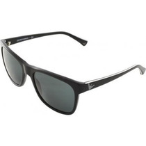 Gafas Emporio Armani Ea Sunglasses Marco Negro Lente Gris