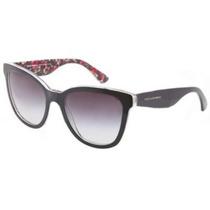 Gafas Dolce And Gabbana G Negro 4190 De Encaje Gatos Ojos