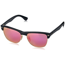 Ray Ban Clubmaster Oversized Rb 4175 877/4t Rosa Espejo