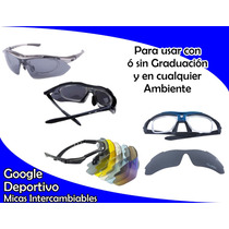 Google Deportivo Micas Intercambiables Audi Sport P/graduar