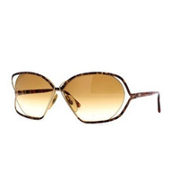Gafas Christian Dior Gold And Brown Authentic Women Vintag