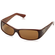 Gafas Black Flys Louis Flytton Wrap Sunglasses Mocha Brown,