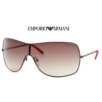 Lentes Emporio Armani Ea 9818/s 0217 Shiny Brown Red
