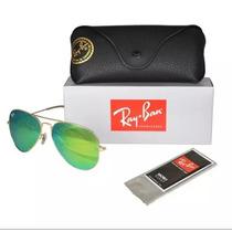 Gafas Ray Ban Aviador 3025 Verdes 112/19