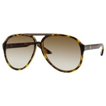 Gafas Gucci 1627 / S Aviator Marco Negro Blanco / Gris Degr