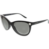 Gafas Versace Cateye Gafas De Sol Ve 4266 Negro, Gris Degra