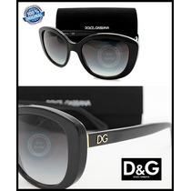 Lentes Dolce & Gabbana Dg4248 501/8g Negro/gris Gradiente