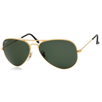 Ray Ban Aviator Polarizados Gota Mediana Rb 3025 001/58