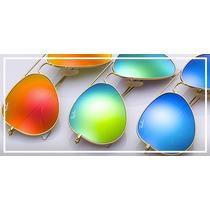 Gafas Ray Ban Aviador De Colores