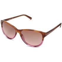 Gafas Dkny 0dy4104 Cat Eye Sunglasses Marrón Hornos, 55 Mm