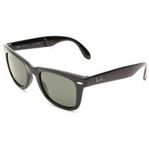 Tb Ray-ban Unisex Rb4105 Folding Wayfarer Sunglasses