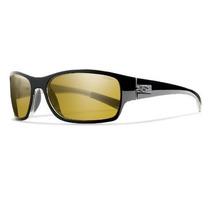 Gafas Smith Optics Foro Sunglass Negro, Polarizado Amarillo
