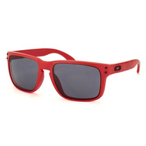 Oakley Holbrook Matte Red - Grey B1b Collection Oo9102-83