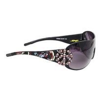 Gafas Ed Hardy Ehs-038 Nueva York Gafas De Sol - Latte / Ca