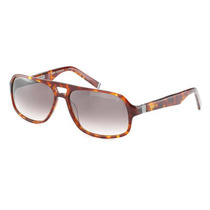 Lentes De Sol John Varvatos V770 Café. Nuevos. Made In Japan