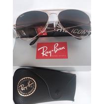 Ray Ban Aviator - 3025 001/51 Medianos 62mm Originales