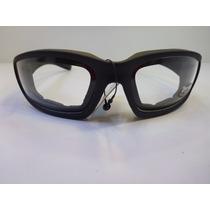 Lentes Goggles Choppers Polarized Uv400 Transparente/negro