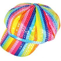 Sombrero Arcoiris, Disco, Gorra, Disfraces