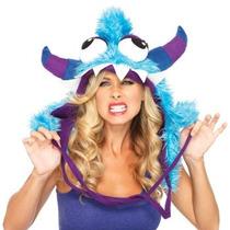 Gorro De Monstruo Azul, Monster Para Adultos, Envio Gratis